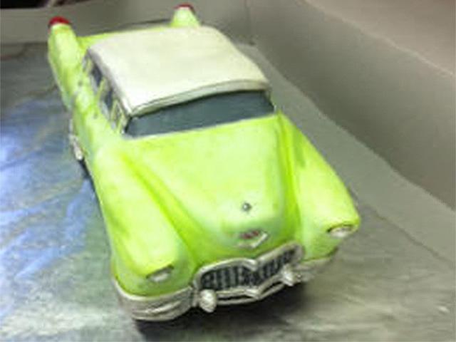Yellow Classic Cadillac