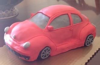 Volkswagen Car Cake